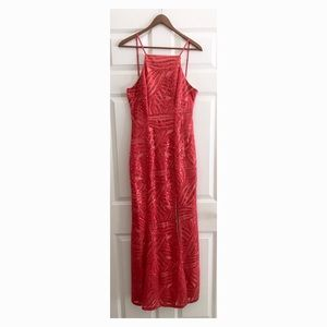 Red sparkly formal/prom dress